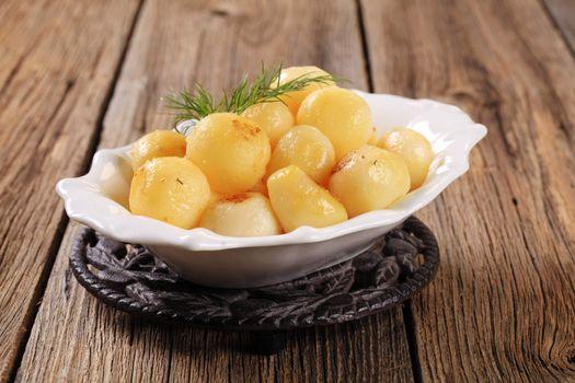 Parisian potatoes (Pommes Parisienne)