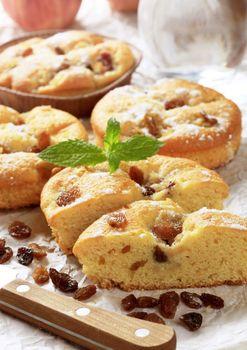 Raisin cakes