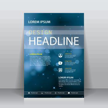 vector brochure flyer cover design template