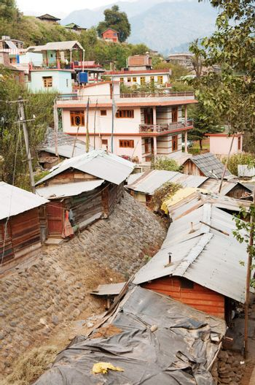 Old Manali town