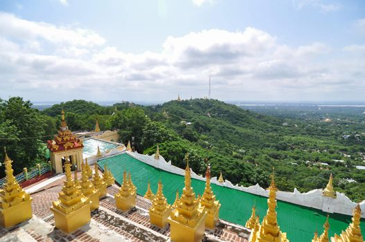 Landscape View from Mandalay Hill