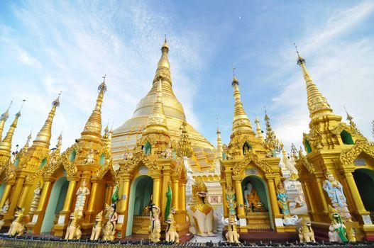 Shwedagon Pagoda Temple, Landmark in Yangon