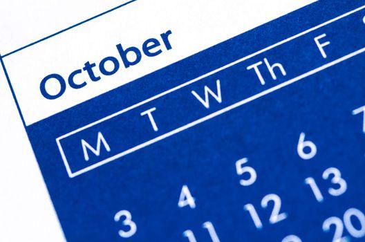 October plan.