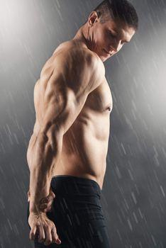 Handsome Muscular Men