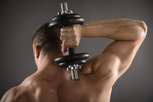 Muscular Men Working Out