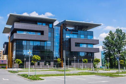 Modern office building in Katowice
