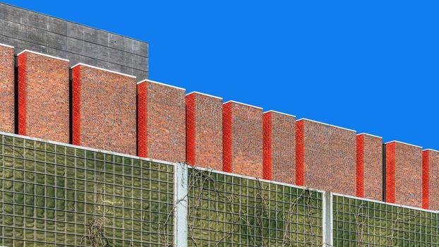 Fragment of the facade