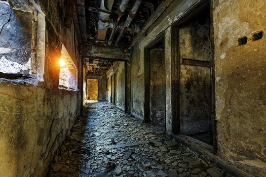 ruins factory damage