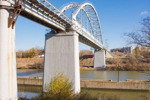 Railway bridge over the Volgodonsk navigable canal, Volgograd