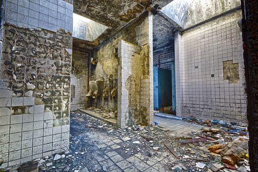 Mental Hospital Bathroom