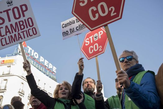 SPAIN - MADRID - CLIMATE CHANGE