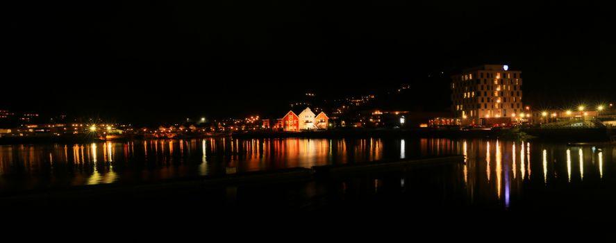 Fra Namsos havne område