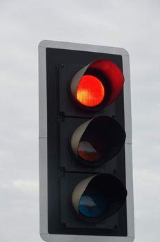 Traffic Light signal at Red