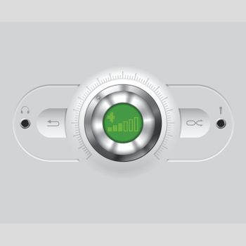 Volume knob with various outputs