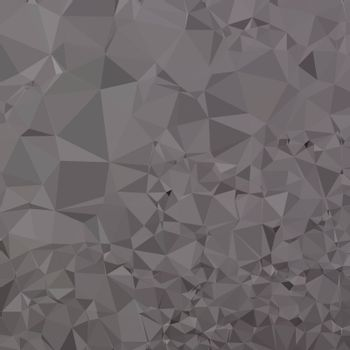 Low polygon style illustration of a trolley grey abstract geometric background.