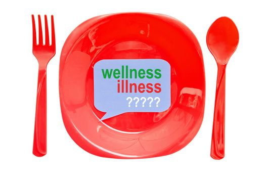 wellness illness label