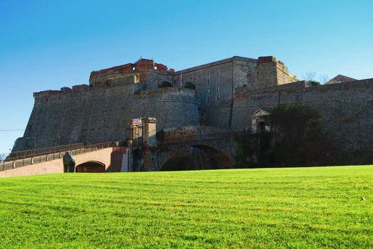 Priamar fortress in Savona, Liguria, Italy