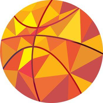 Basketball Ball Low Polygon