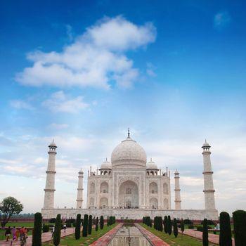 Taj Mahal Agra India daytime