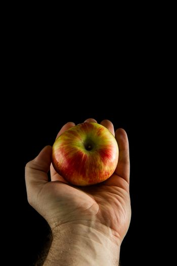 hold the apple