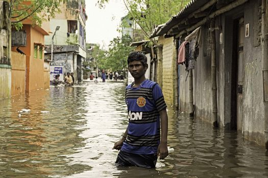 INDIA - DISASTER - FLOODS