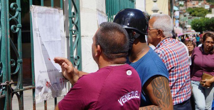 VENEZUELA - CONGRESSIONAL ELECTIONS - VOTING