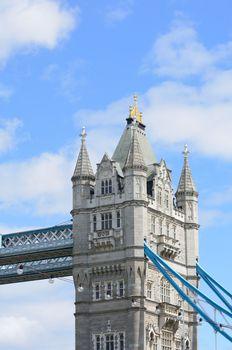 Detail of Tower Bridge London