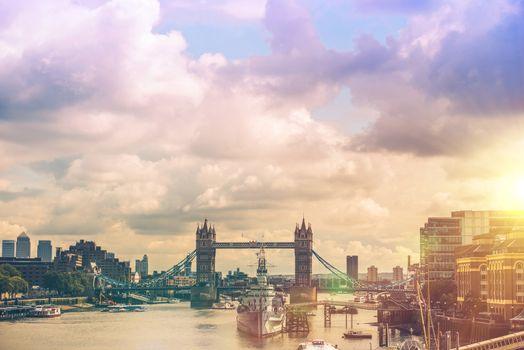 London River Thames Panorama