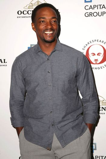 """Anthony Mackie at the 25th Annual Simply Shakespeare Benefit Reading Of """"Twelfth Night."""" Broad Stage, Santa Monica, CA 12-08-15/ImageCollect"""