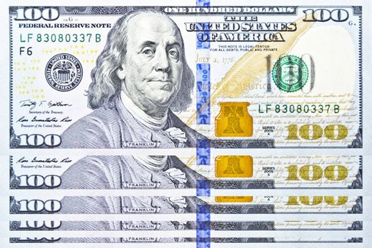 Banknote, One hundred dollar United State of America