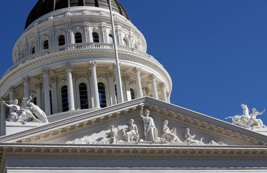 Capitol building in Sacramento California