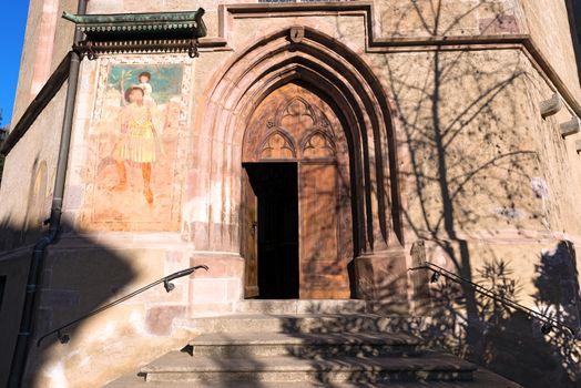 Chapel of Santa Barbara - Merano Italy