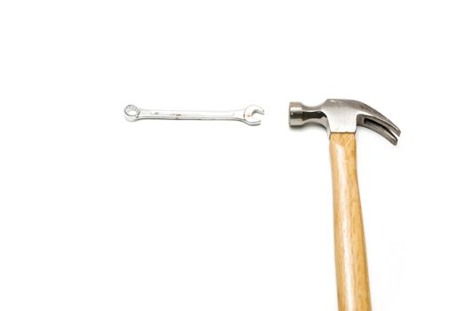 hammer with wrench