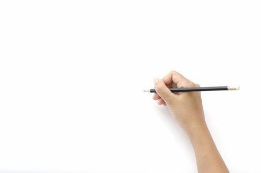 left hand writing