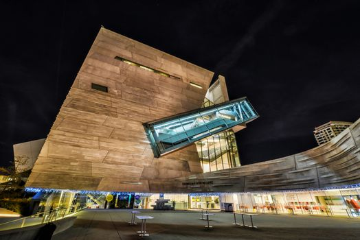 Dallas Perot Museum in HDR