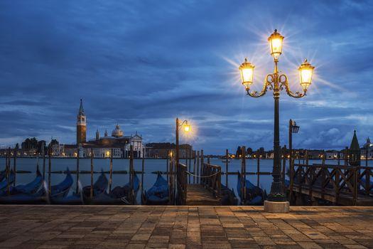 San Giorgio Maggiore from Venice by nigh