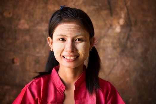 Young Myanmar girl