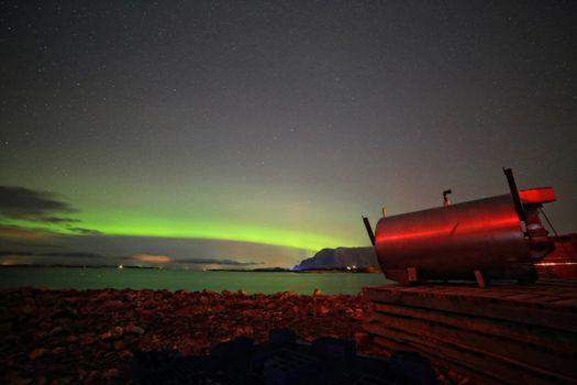 Aurora borealis, - Nordlyset