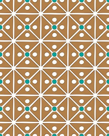 cassette brown abstract pattern