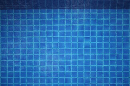 The bottom of a pool