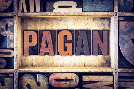 Pagan Concept Letterpress Type