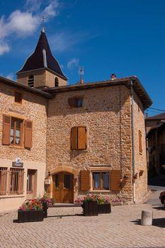 Beaujolais gilded stones