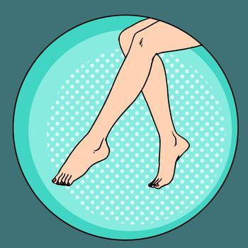 Naked girls feet