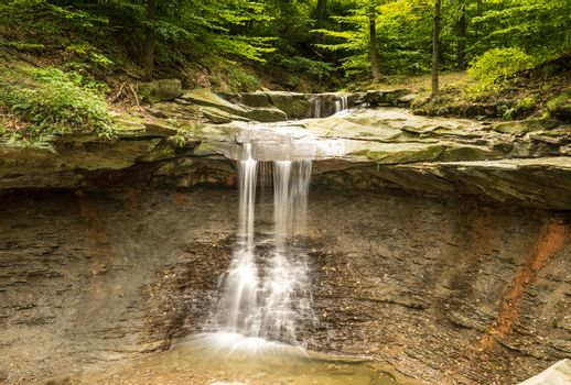 Silky Waterfall at Blue Hen Falls