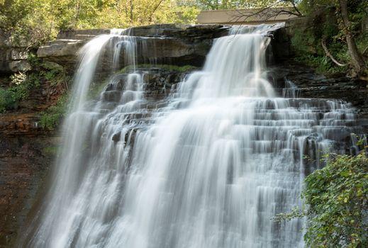 Silky Waterfall at Brandywine Falls