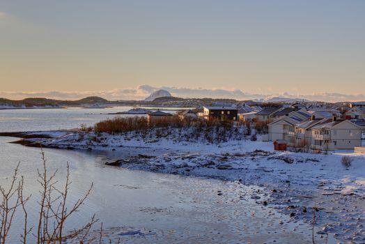 Kaldt i Trælvikfjorden