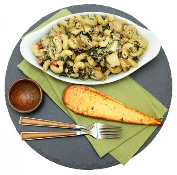 Baked Tuscan Chicken Pasta with Artichoke