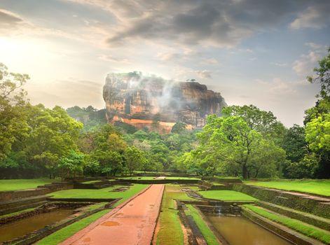 Mountain of Sigiriya