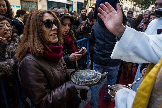 SPAIN - ANIMALS - RELIGION