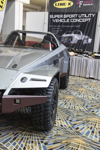 DETROIT - JANUARY 17 :Suer sport utlity vehicle concept at The N
